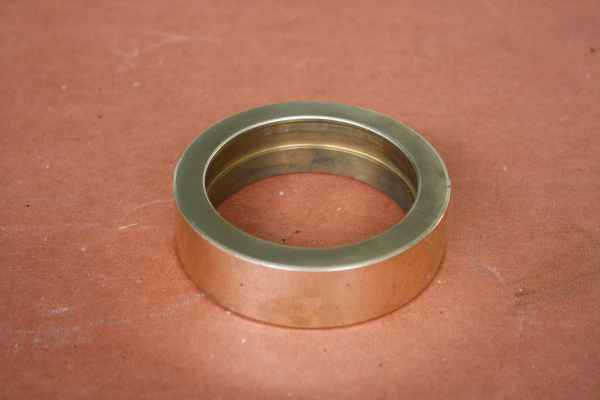 distance bushing / spacer out of bronze