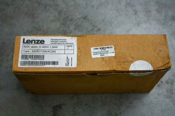 Lenze 8200 Vector frequency converter for 1.5kW drive power