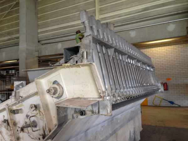 Voith Sulzer headbox 4130mm hydraulic