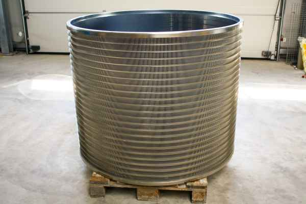 Slotted Screen Basket 0,15mm C-Bar for Voith VSi30 / VSi31/ VSi32 & MSS12/10