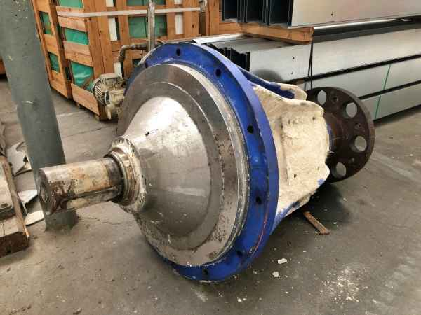 spare bearing housing for Cellwood dissolving unit