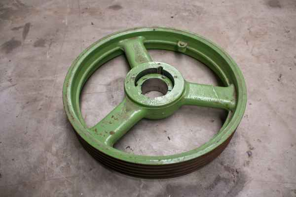 Pulley for Finckh H04 incl. TaperLock Bush