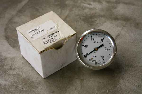 Bourdon Haenni Manometer MIT3 F22 B18