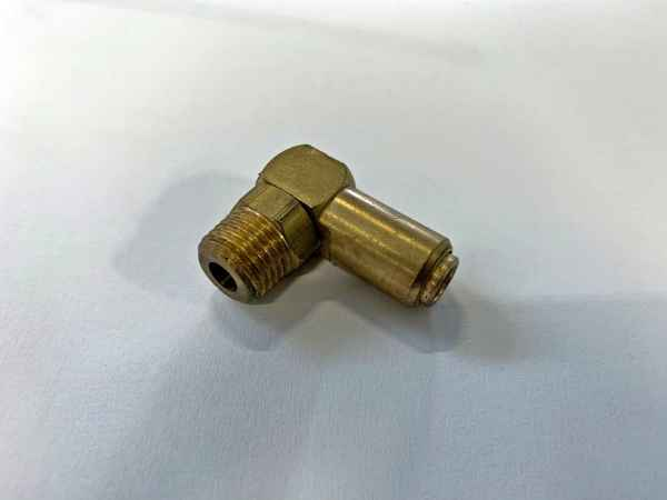 threaded union L-shape for 6mm hose