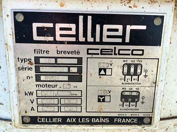 Cellier Screen