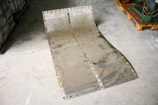Screen Plate for Finckh E2/1,5² vibrating screen
