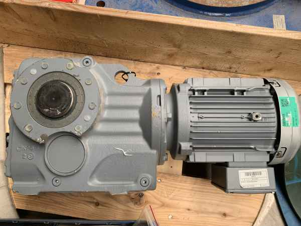gear drive motor for Trommel 12/25