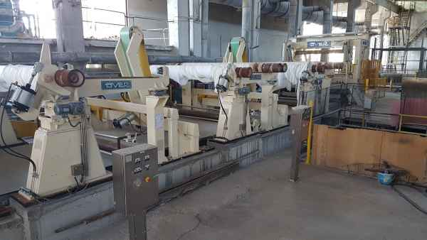 OVER Tissue Rollenschneidmaschine 2750mm